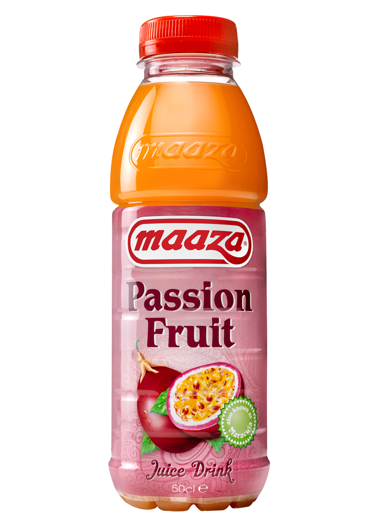 Productafbeelding Maaza juice drink passion fruit 50cl fles