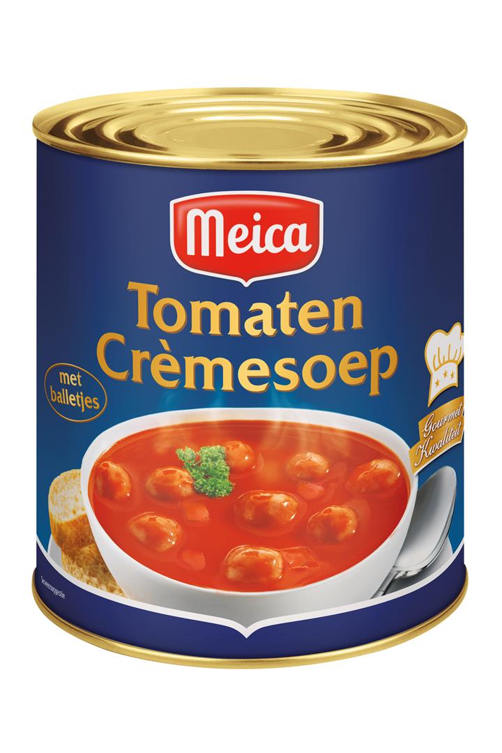 Productafbeelding Meica soep tomaten crème 3l blik