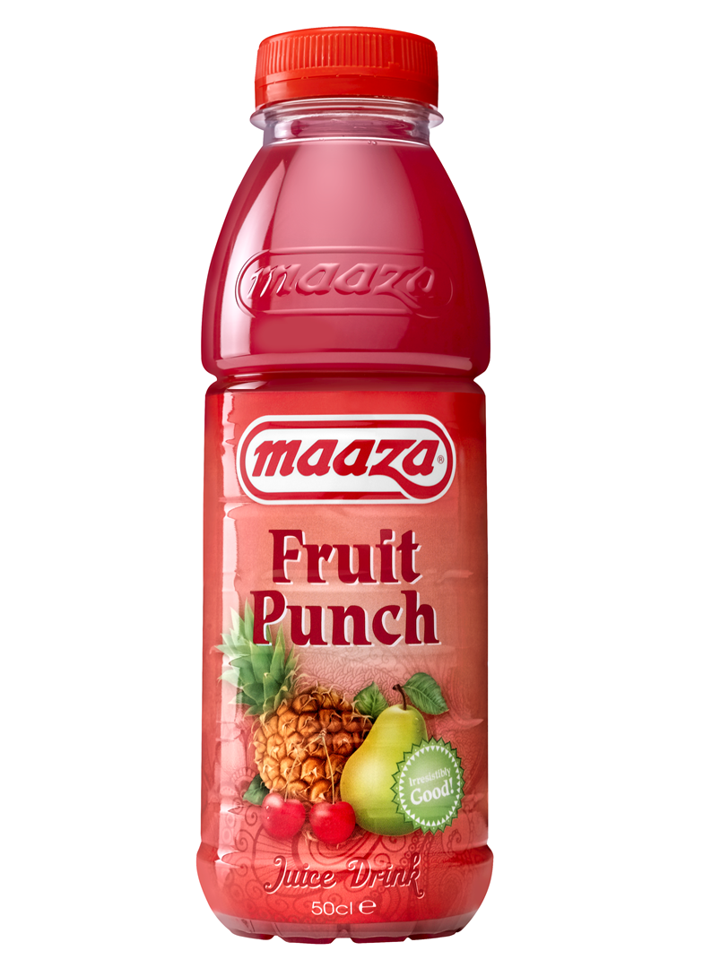 Productafbeelding Maaza juice drink fruit punch 50cl fles