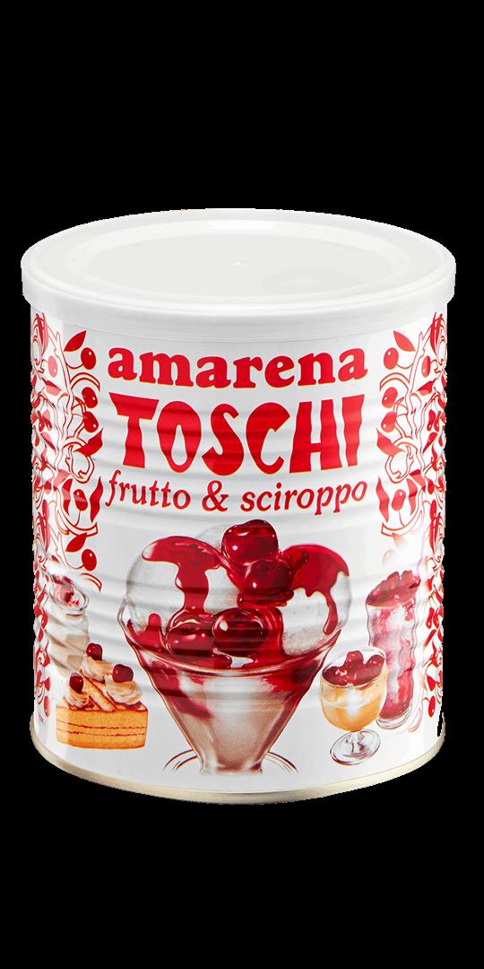 Productafbeelding Toschi Amarena frutto & sciroppo 1000g blik