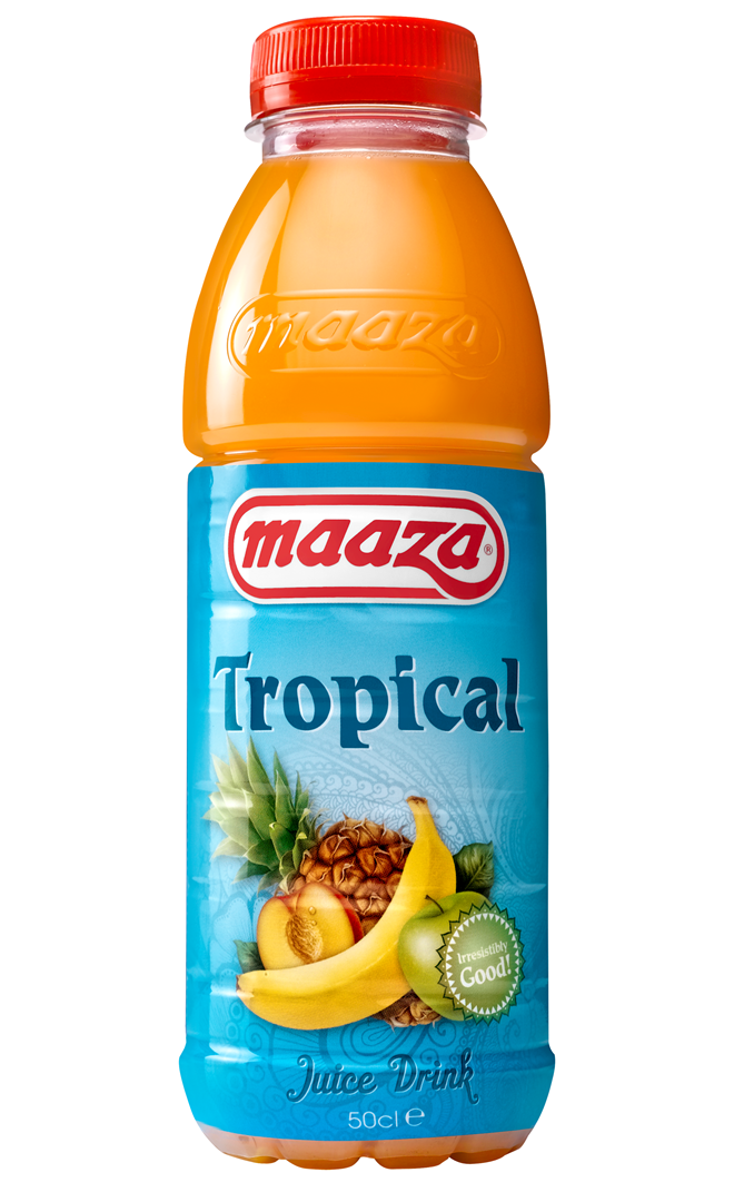 Productafbeelding Maaza juice drink tropical 50cl fles
