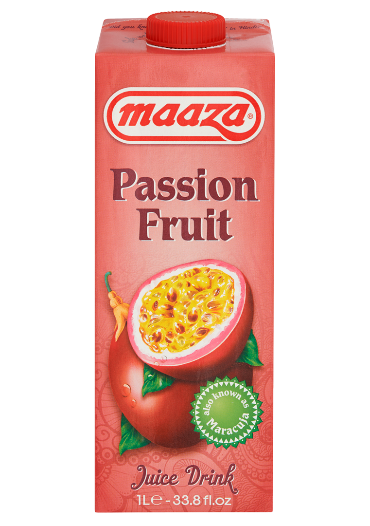 Productafbeelding Maaza juice drink passion fruit 1L pak met punt