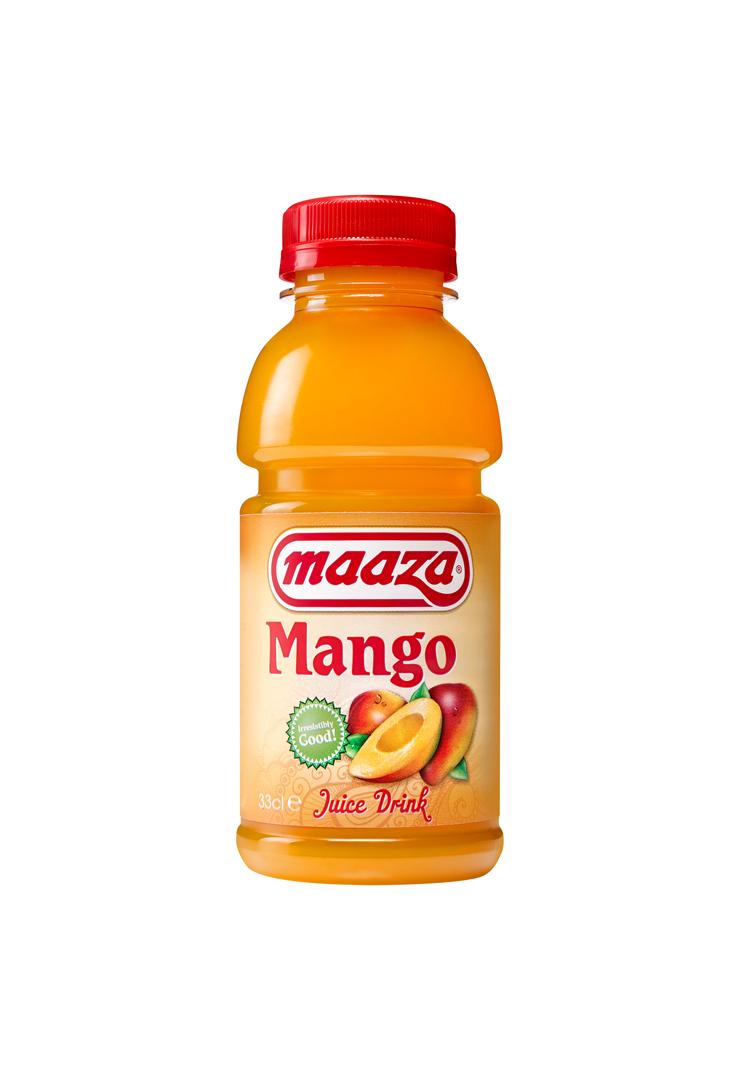 Productafbeelding Maaza juice drink mango 33cl fles