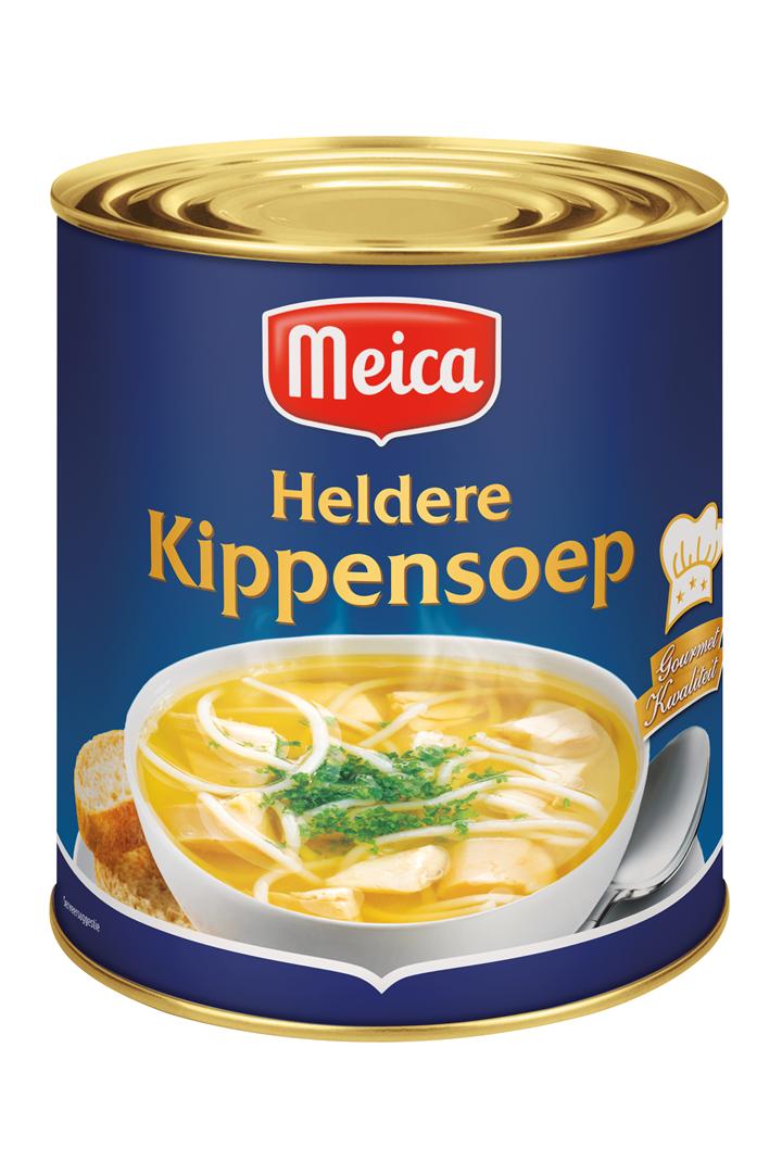 Productafbeelding Meica soep heldere kippen 3l blik