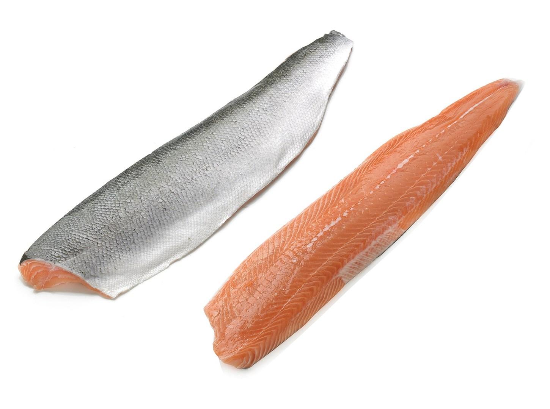 Productafbeelding Zalm organisch, filet met vel geschubd
