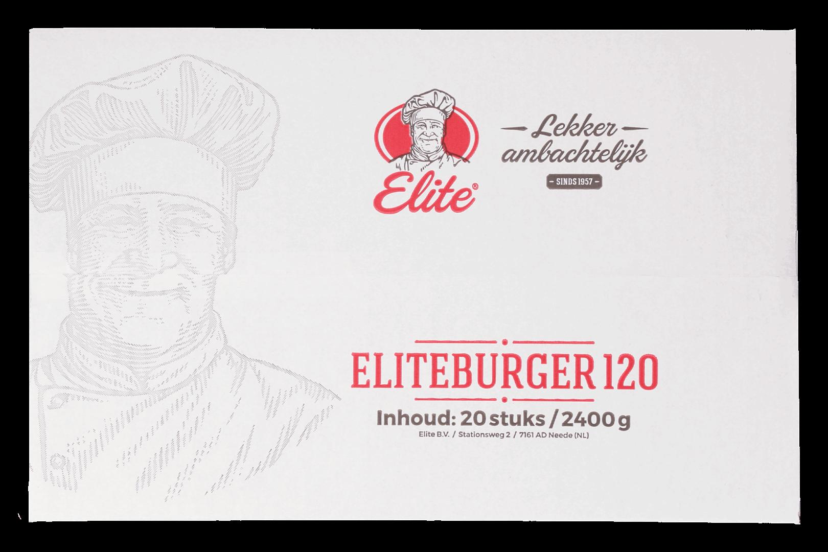 Productafbeelding Eliteburger 20x120 gr