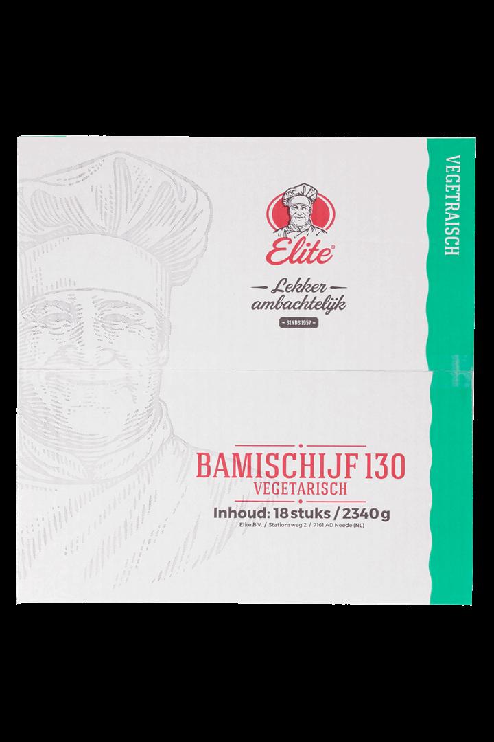Productafbeelding Bamischijf Vegetarisch 18x130 gr