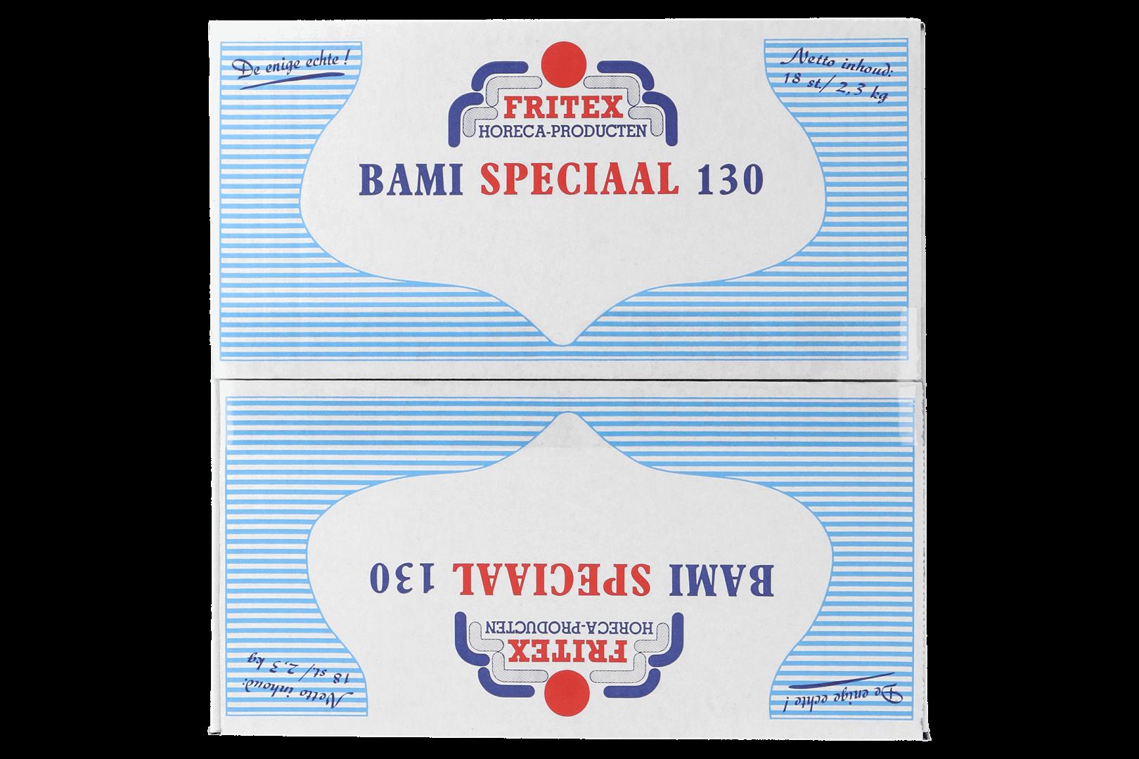 Productafbeelding Bamischijf Speciaal Fritex 18x130 gr