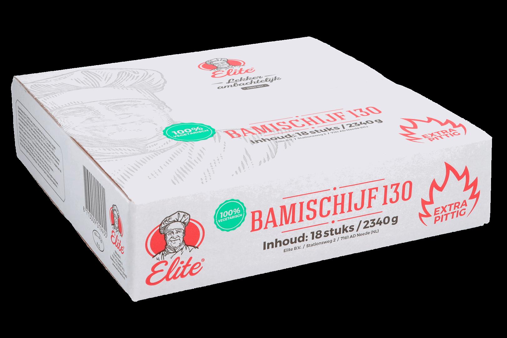 Productafbeelding Bamischijf Extra Pittig 18x130 gr
