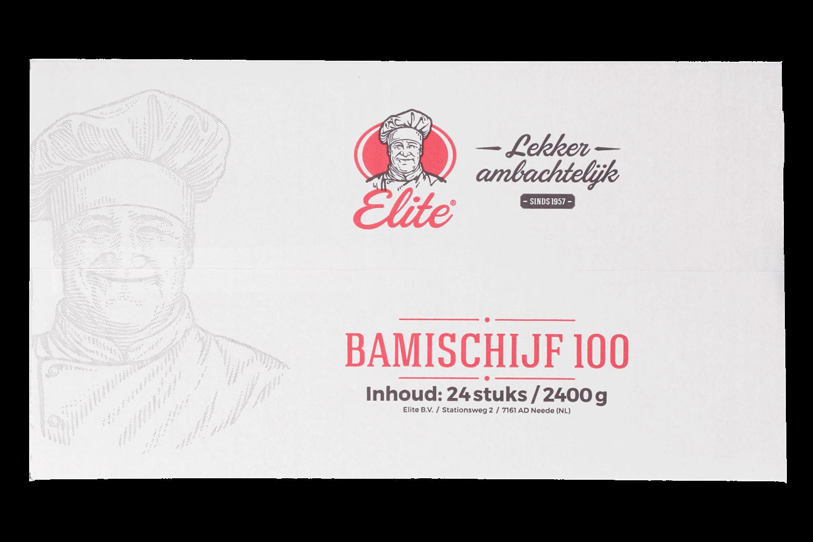 Productafbeelding Bamischijf 24x100 gr