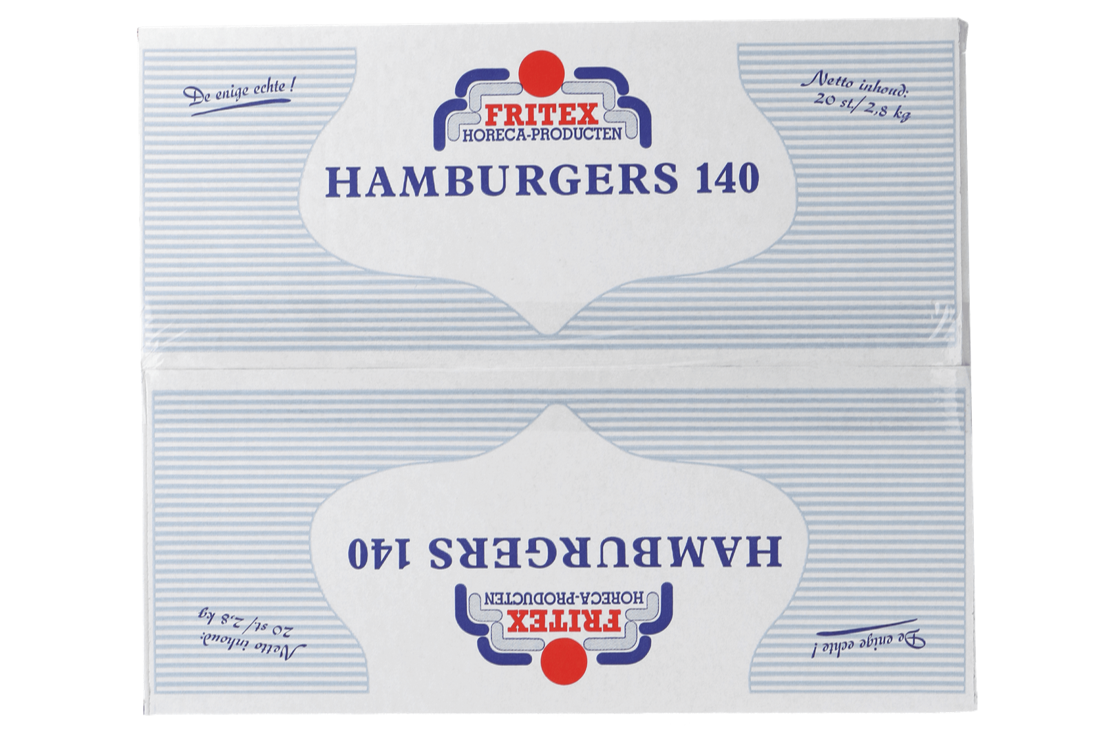 Productafbeelding Hamburger Fritex 20x140 gr