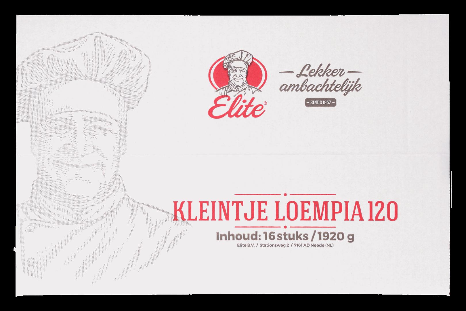 Productafbeelding Kleintje-Loempia 16x120 gr