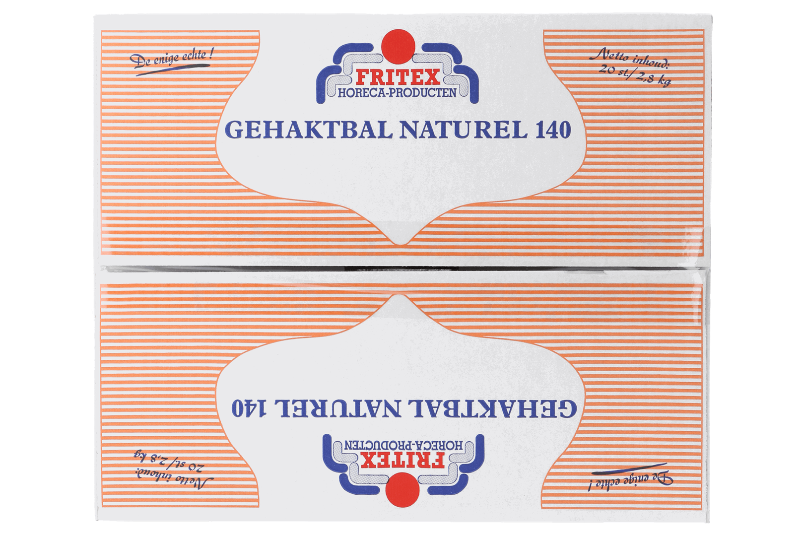 Productafbeelding Gehaktbal Naturel Fritex 20x140 gr