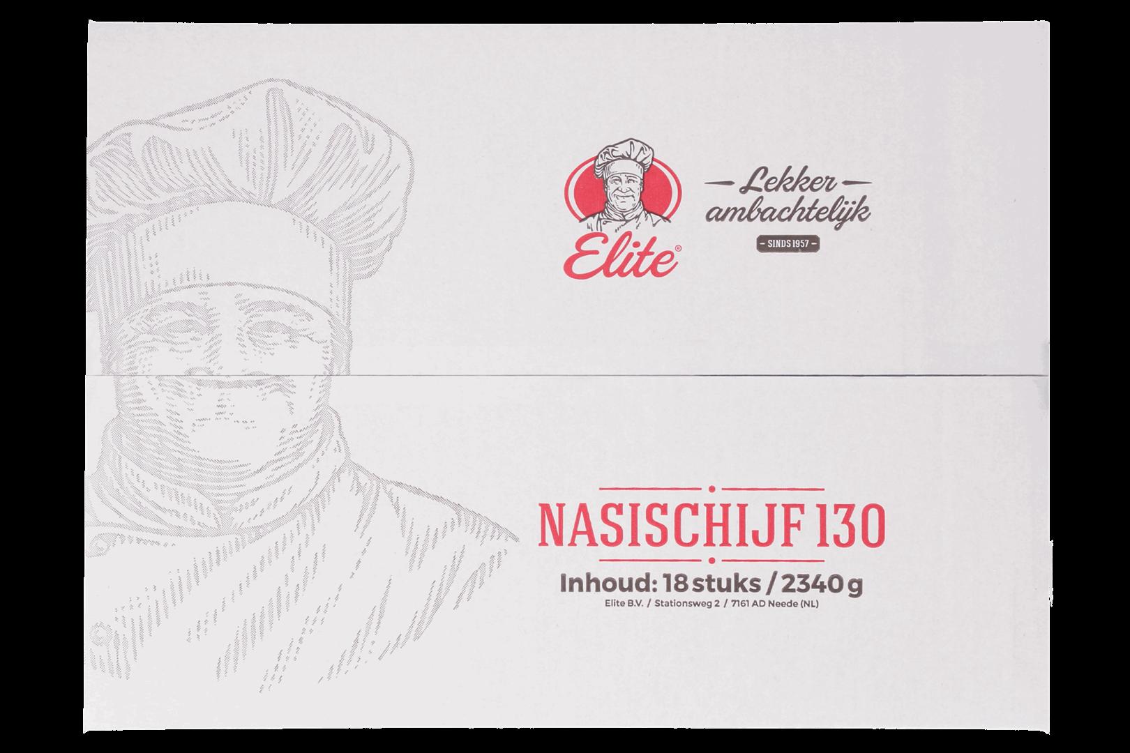 Productafbeelding Nasischijf 18x130 gr