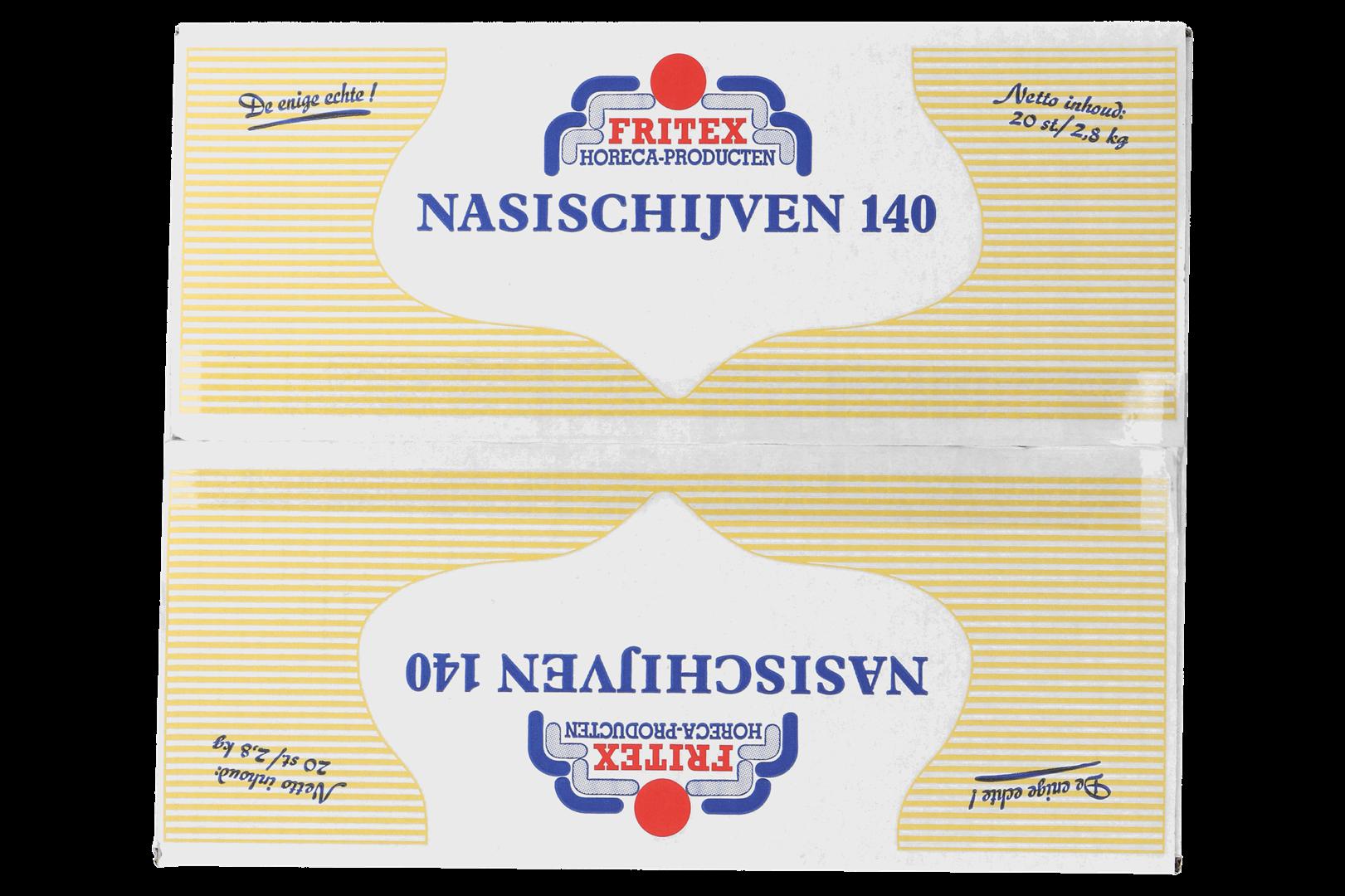 Productafbeelding Nasischijf Fritex 20x140 gr