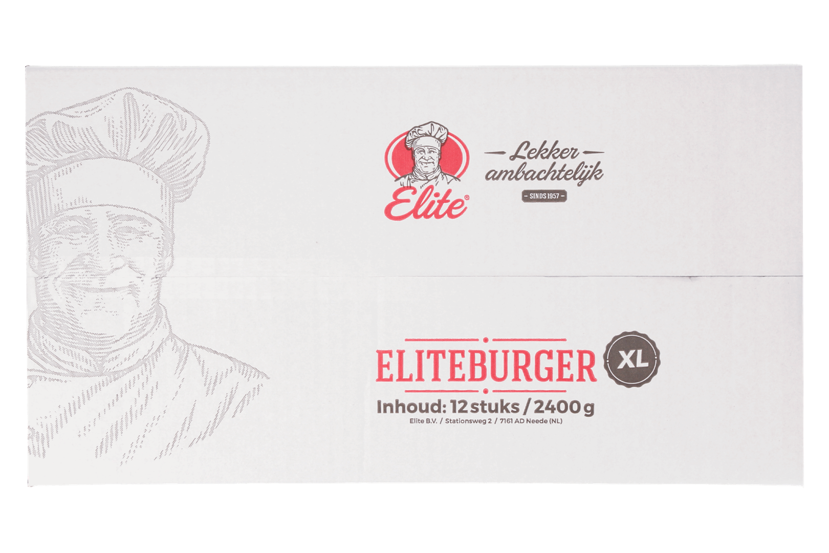 Productafbeelding Eliteburger XL 12x200 gr