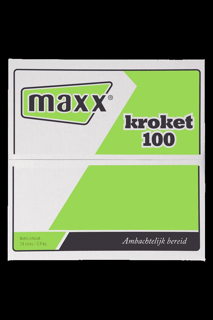 Productafbeelding Maxx kroket 28x100 gr
