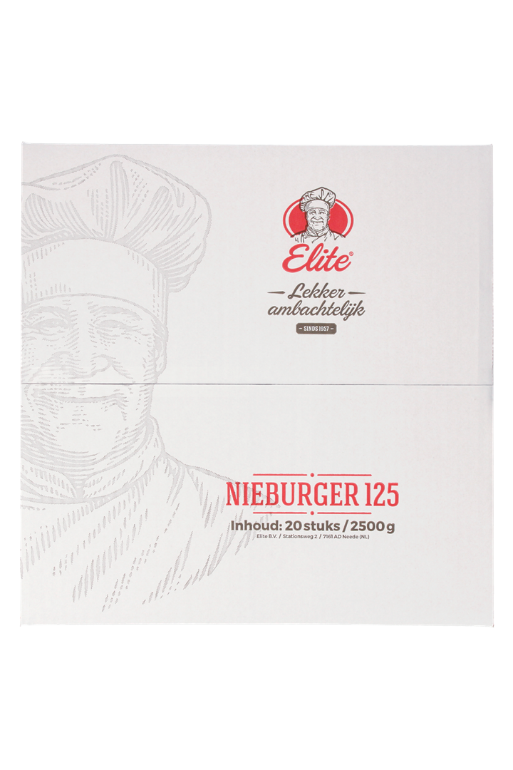 Productafbeelding Nieburger 20x125 gr