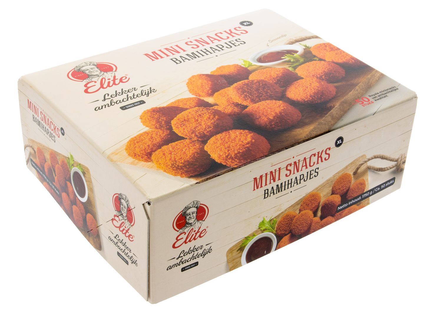 Productafbeelding Mini Snacks Extra Large - Bamihapjes 50 stuks
