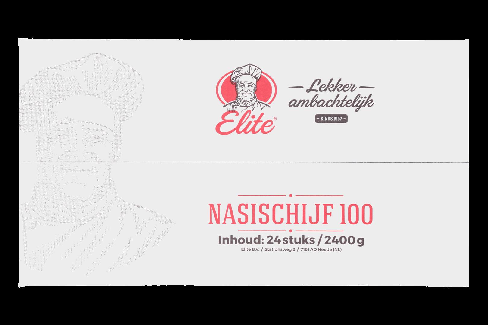 Productafbeelding Nasischijf 24x100 gr