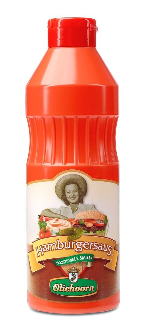 Productafbeelding Oliehoorn Hamburgersaus Knijpfles 900 ml