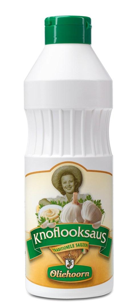 Productafbeelding Oliehoorn Knoflooksaus Knijpfles 900 ml