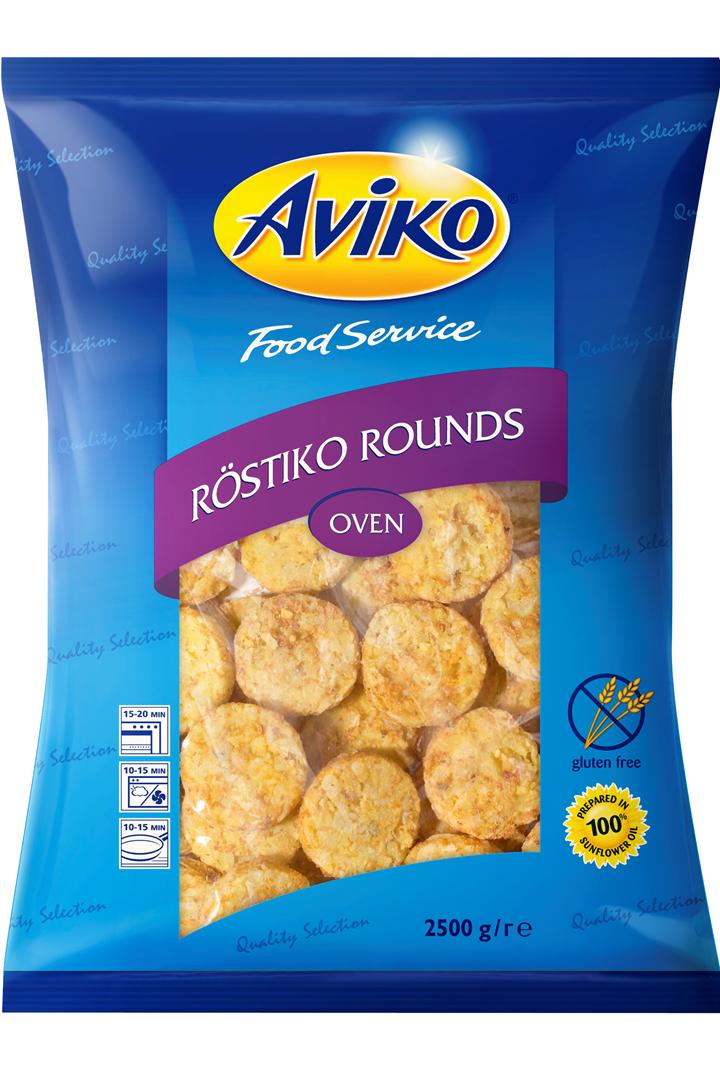 Productafbeelding Aviko Rostiko Rounds 2500g