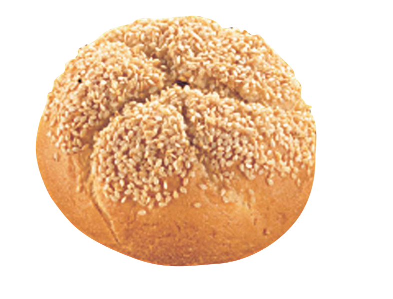 Productafbeelding B157 Kaiserbroodje met sesamzaad60g