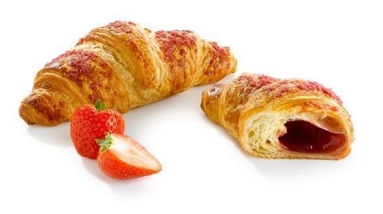 Productafbeelding Croissant met aardbeienvulling