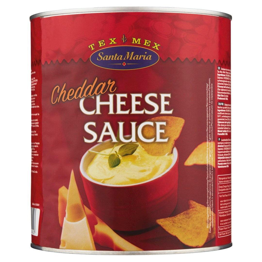 Productafbeelding Santa Maria 3KG Cheddar Cheese Sauce