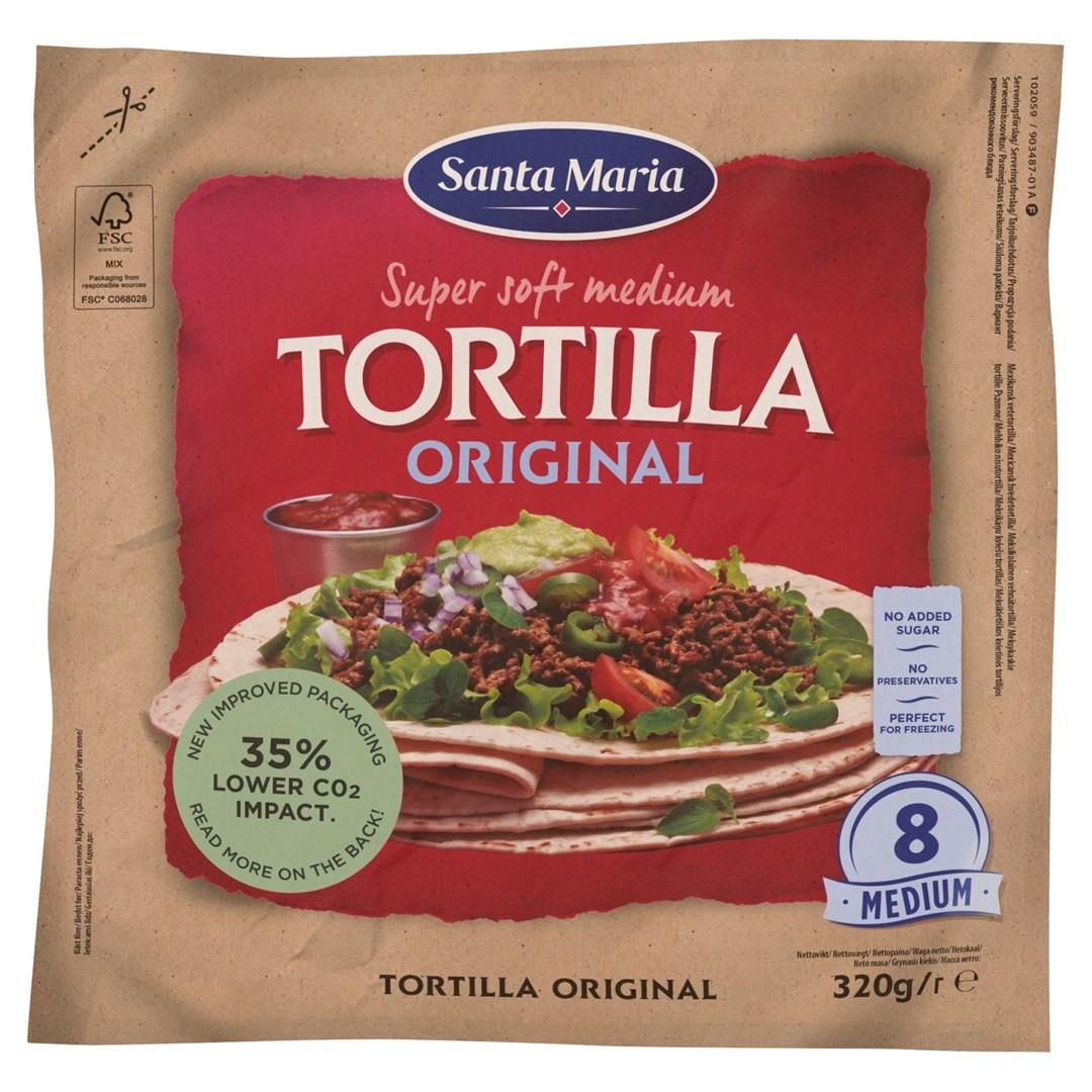 Productafbeelding Santa Maria 320G Tortilla Original Medium