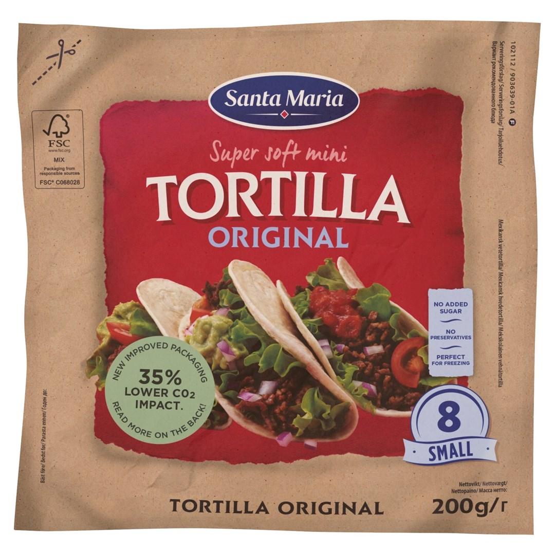 Productafbeelding Santa Maria 200G Mini Tortilla Original