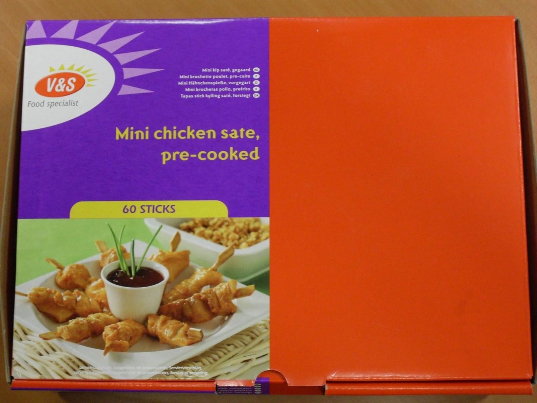 Productafbeelding Partybox-Mini gebraden Kipsate 60x20 g