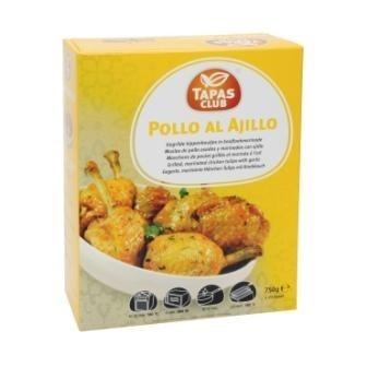 Productafbeelding Tapas Club Pollo al Ajillo 750g ca25st