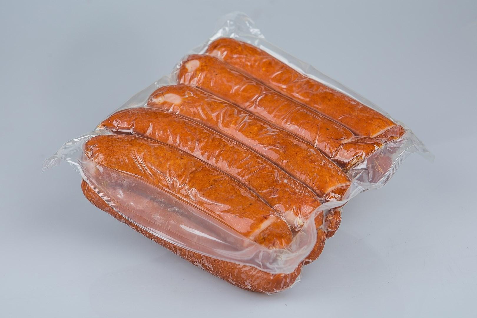 Productafbeelding Rookworst zoutarm 100 gr p/5 verp