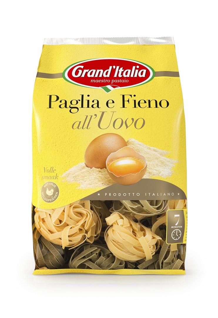 Productafbeelding Grand'Italia Pasta Paglia e Fieno all'Uovo 500 g Zak