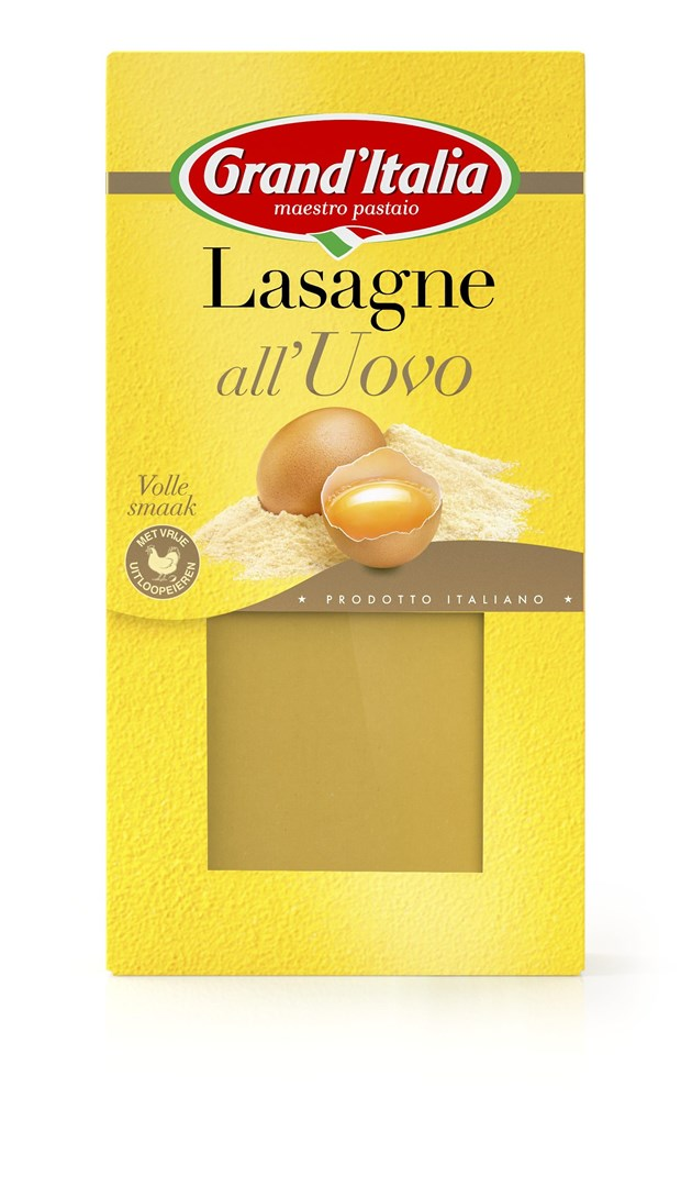 Productafbeelding Grand'Italia Pasta Lasagne all'Uovo 250 g Doos