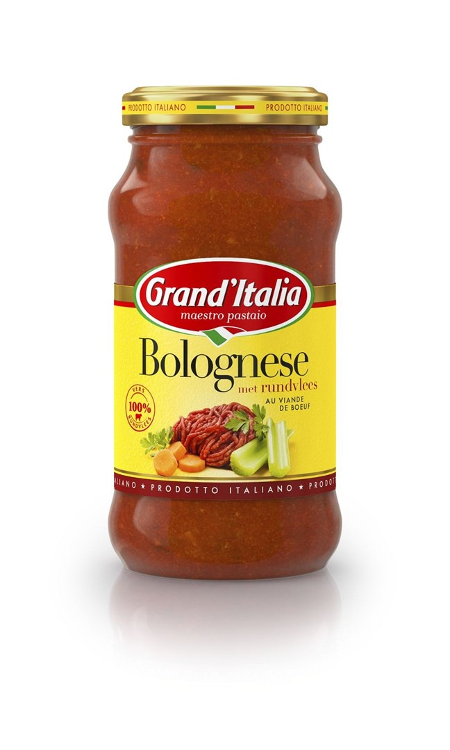 Productafbeelding Grand'Italia Tomatensaus Bolognese 260 g Bus