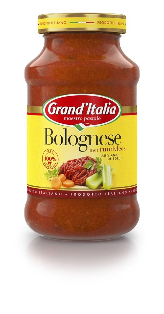 Productafbeelding Grand'Italia Tomatensaus Bolognese 600 g Bus