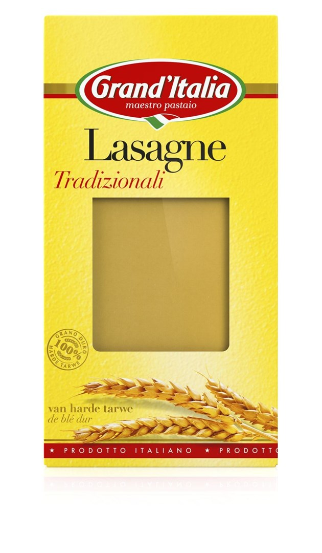 Productafbeelding Grand'Italia Pasta Lasagne Tradizionali 250 g Doos
