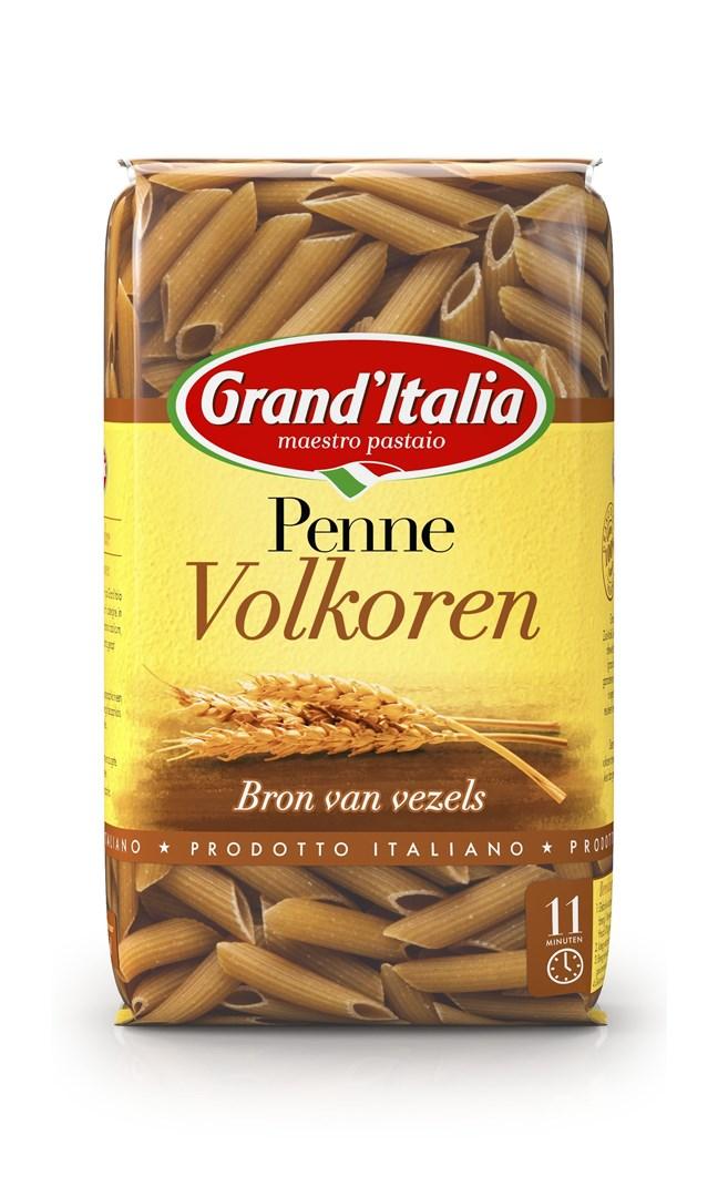 Productafbeelding Grand'Italia Pasta Penne Volkoren 500 g Zak