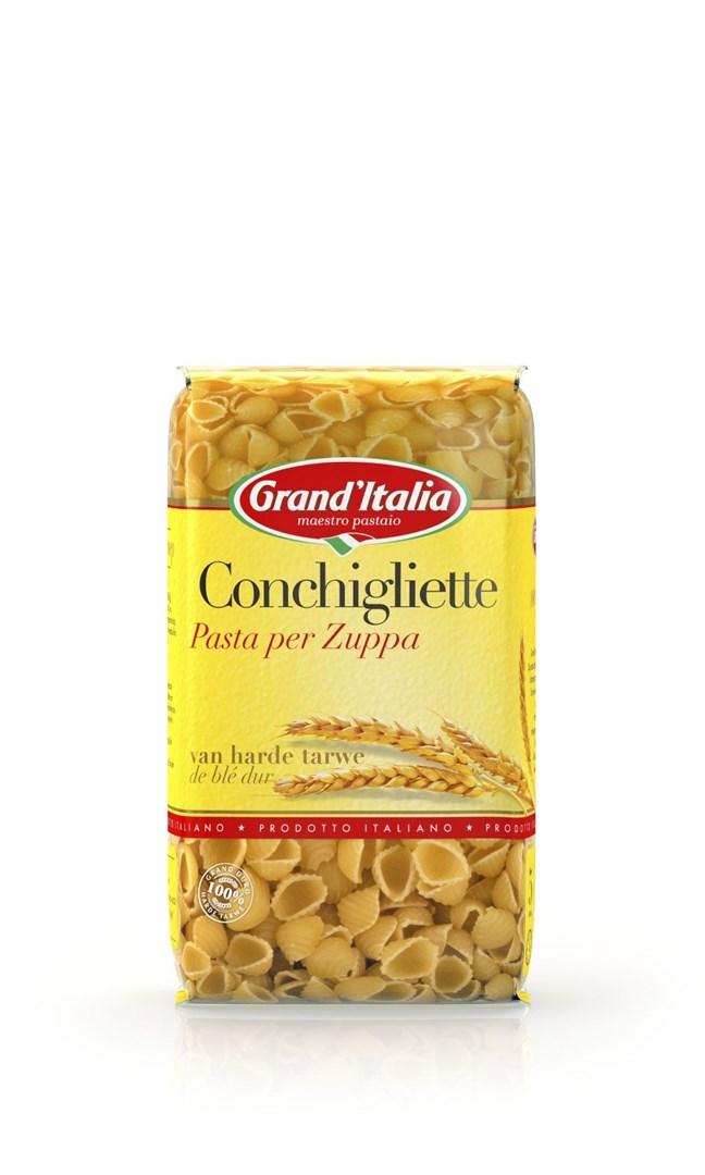 Productafbeelding Grand'Italia Pasta per Zuppa Conchigliette 250 g Zak