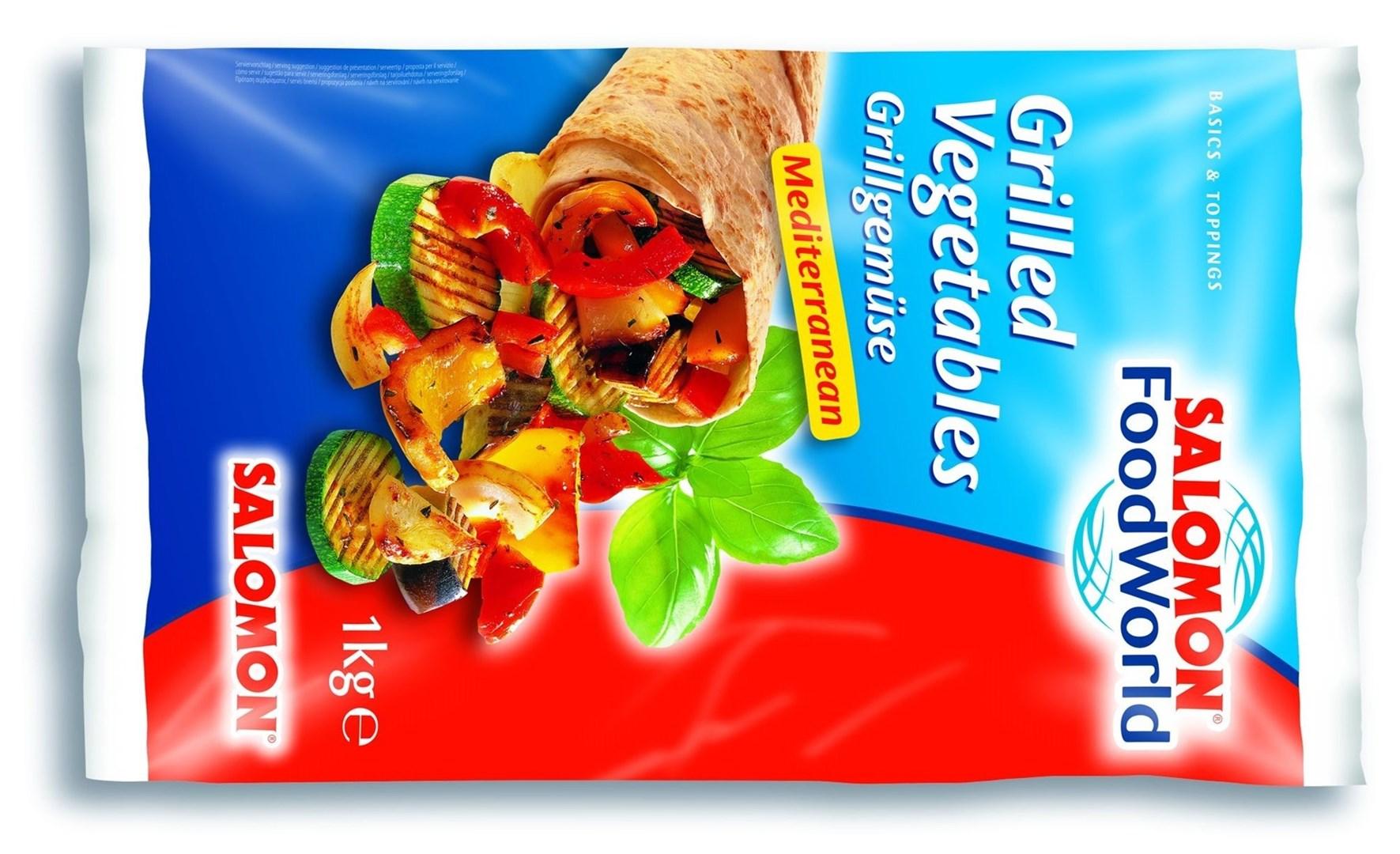 Productafbeelding Gegrillde Groenten Mediterranean