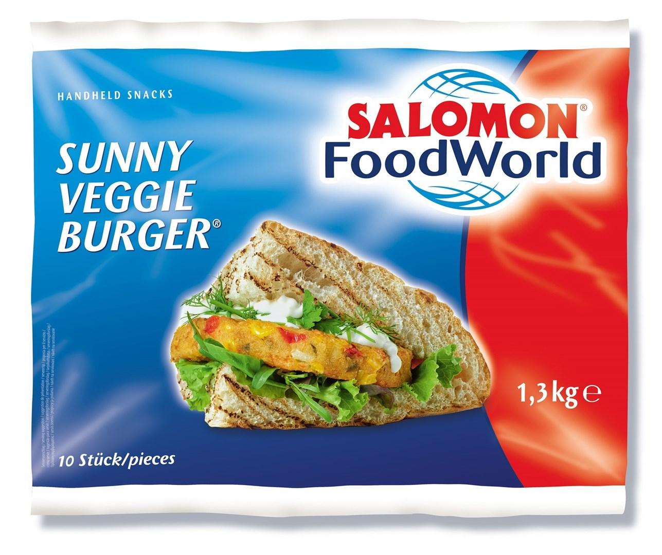 Productafbeelding Sunny Veggie Burger 130 g