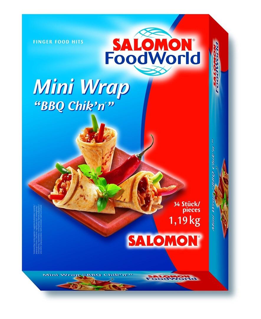 Productafbeelding Mini Wrap BBQ Chik'n