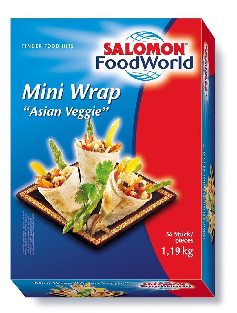 Productafbeelding Mini Wrap Asian Veggie