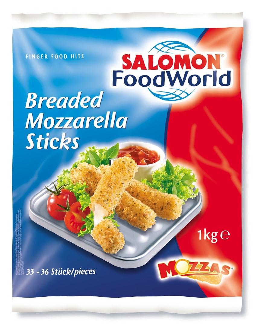Productafbeelding Breaded Mozzarella Sticks