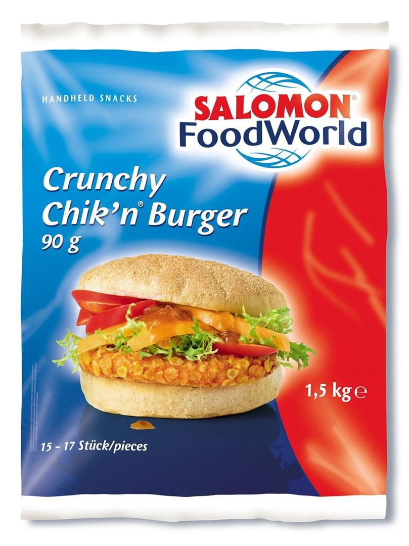 Productafbeelding Crunchy Chik'n® Burger 90 g