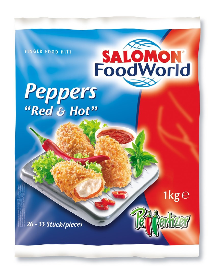 Productafbeelding Peppers Red & Hot