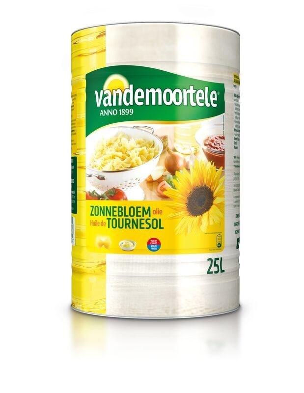 Productafbeelding Vandemoortele Zonnebloemolie 25ltr